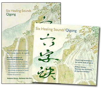 Six Healing Sounds DVD and Music CD